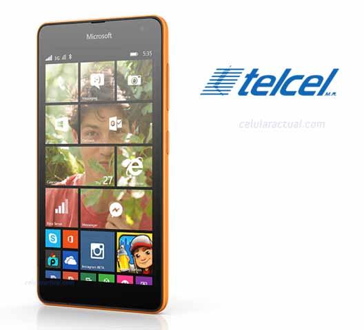 Lumia 535 con Telcel