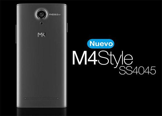 M4Tel M4Style SS4045 con Telcel cámara de 8 MP