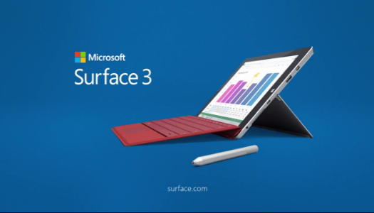 Microsoft Surface 3 principal