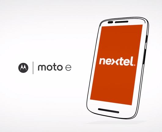 Moto E con Plan Mi Negocio de Nextel