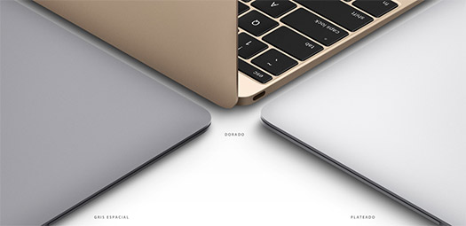 Apple nueva Macbook colores