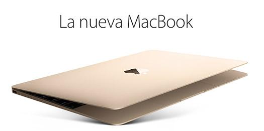 Apple presenta nueva Macbook