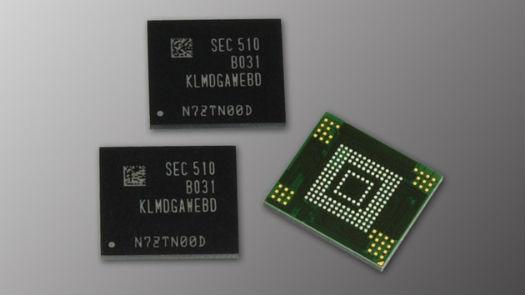 Samsung chip de memoria de 128 GB