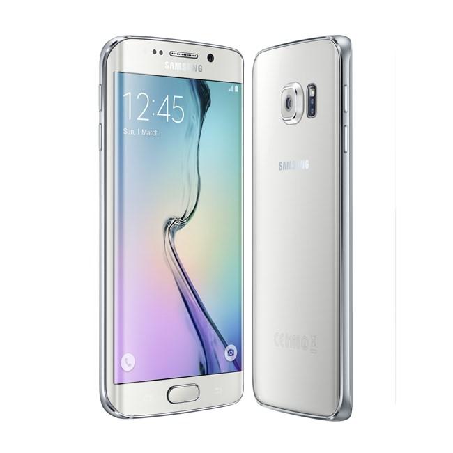 Samsung Galaxy S6 edge color Blanco