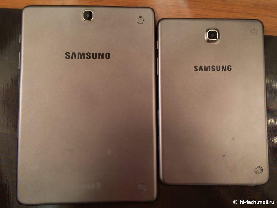 Galaxy Tab A y Tab A Plus posterior