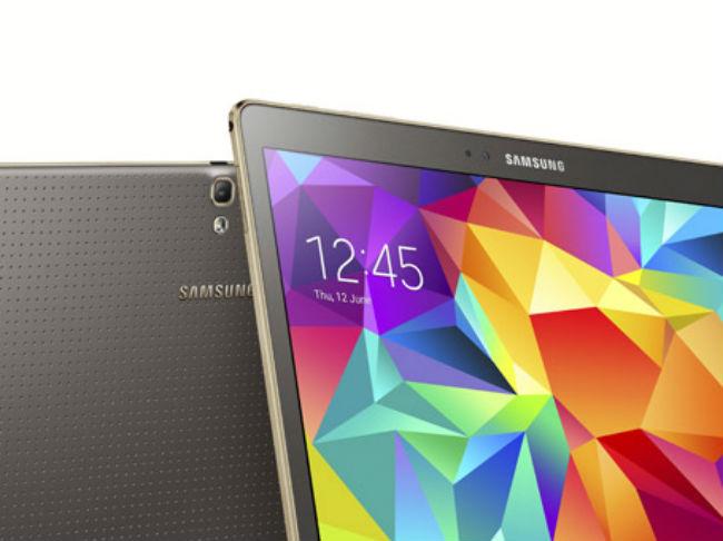 Galaxy Tab S detalle