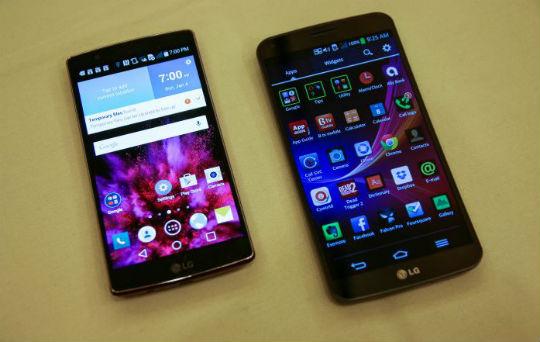 LG G Flex vs LG G Flex 2