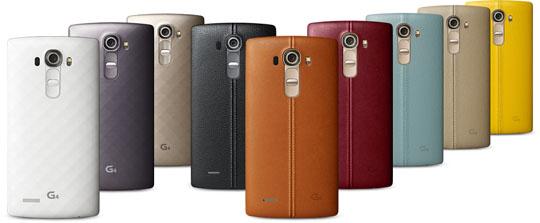 LG G4 colores
