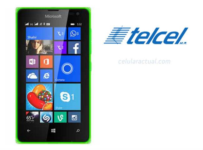 Lumia 532 con Telcel