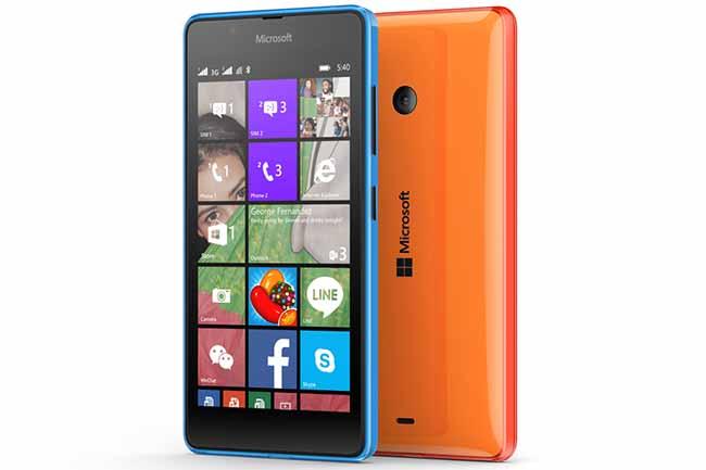 Lumia 540 Dual SIM oficial