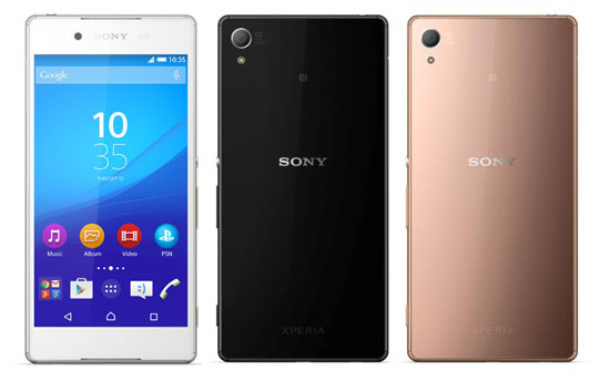 Sony Xperia Z4 smatrtphone