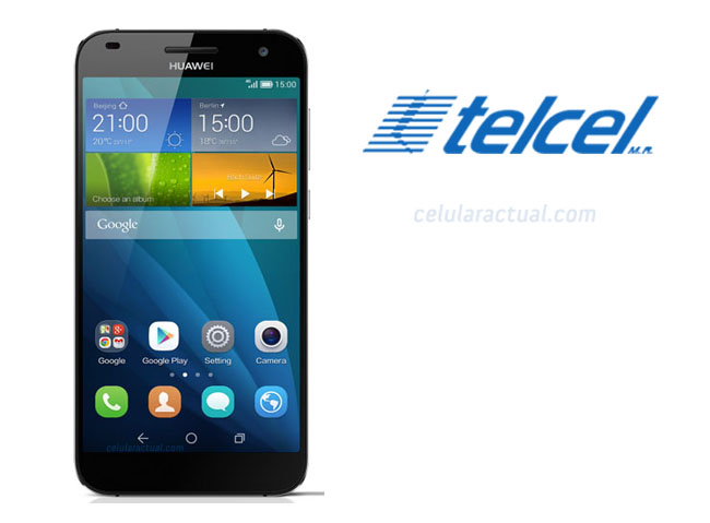 Huawei Ascend G7 con Telcel