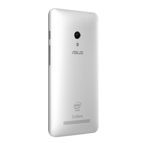 Asus Zenfone 5 color blanco cámara