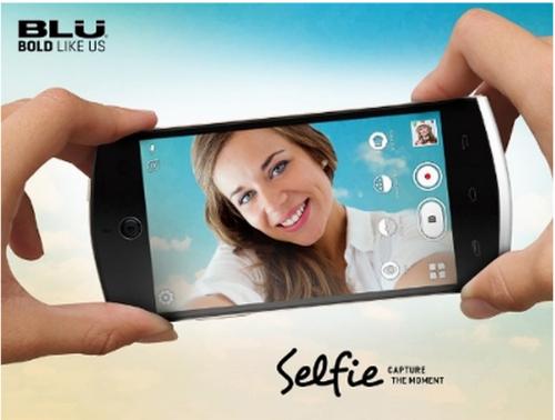 Blu Selfie promo presentación