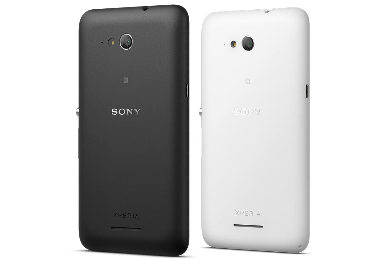 Sony Xperia E4g cubierta trasera