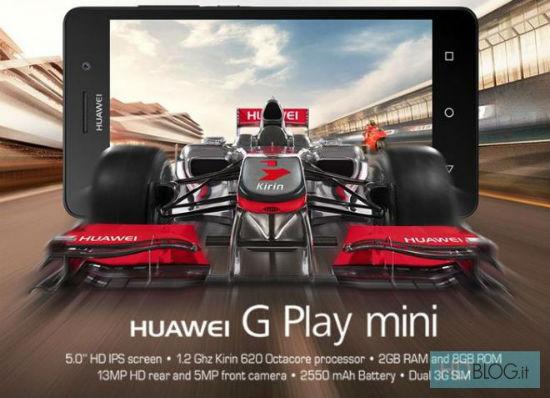 Huawei G Play Mini, promo