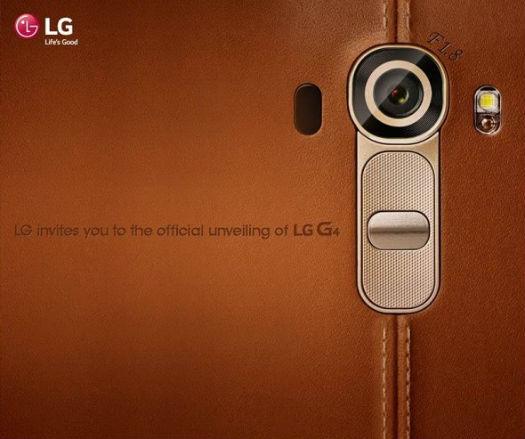 Invitación LG G 4