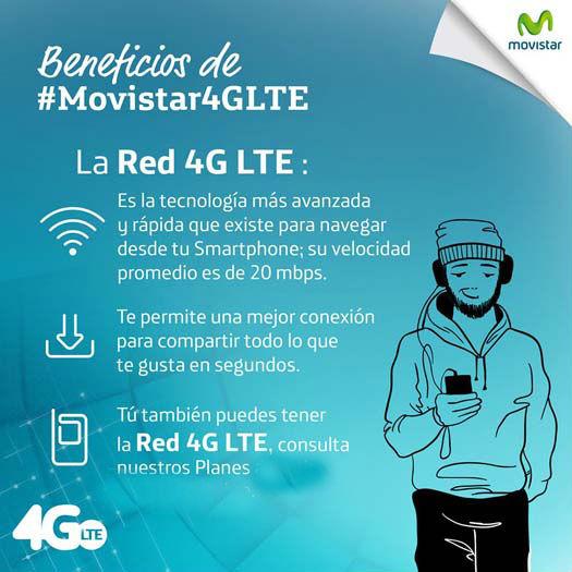 Movistar México Red 4G LTE
