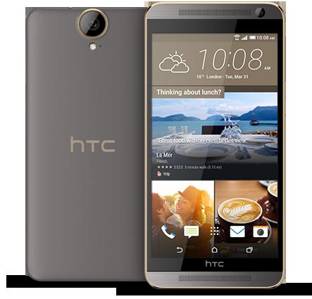 HTC One E9+ oficial gris