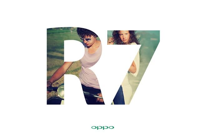 Oppo R7 teaser