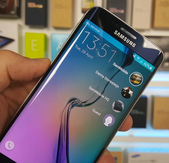 Guest Mode en Samsung Galaxy S6 Edge
