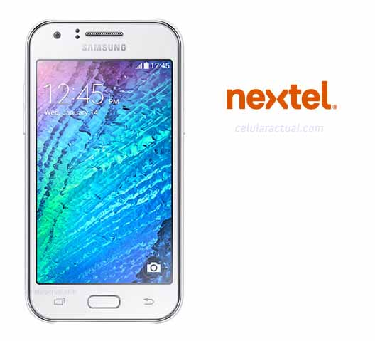 Samsung Galaxy J1 con Nextel