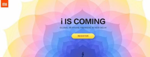 Xiaomi publicidad presentación Mi Phone