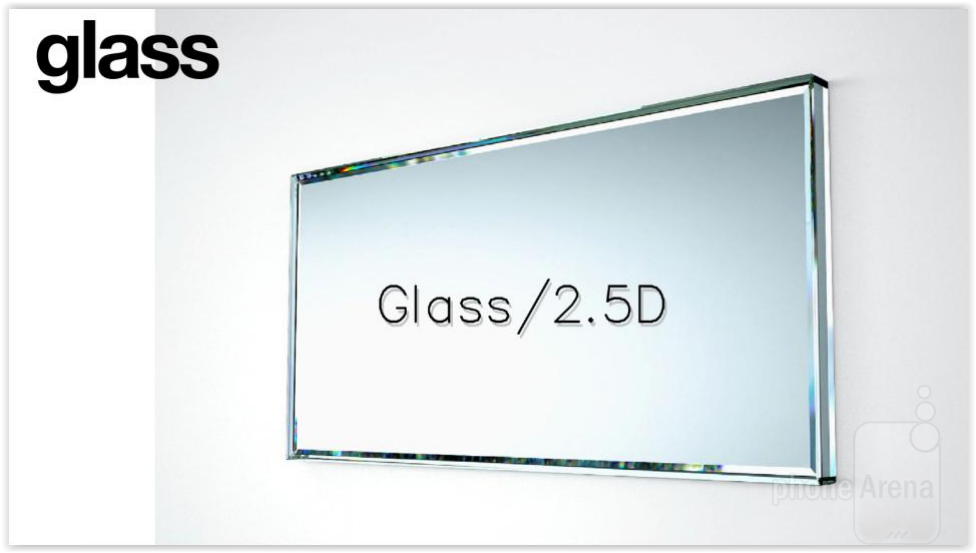 Render Glass 2.5 D Xperia Z4