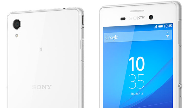 Sony Xperia M4 Aqua detalle