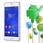 Sony lanza Android 5.0 Lollipop a los Xperia Z3 dual, Z1, Z1 compact y Z Ultra
