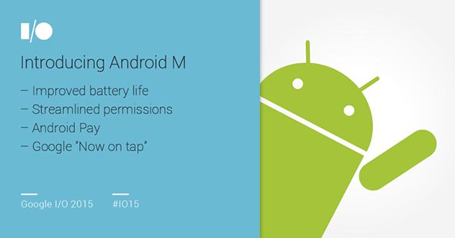 Android M presentación oficial
