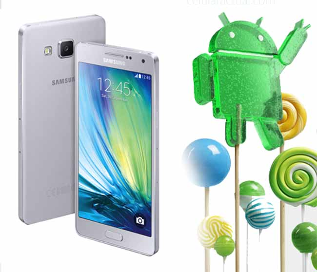 Galaxy A5 Android Lollipop
