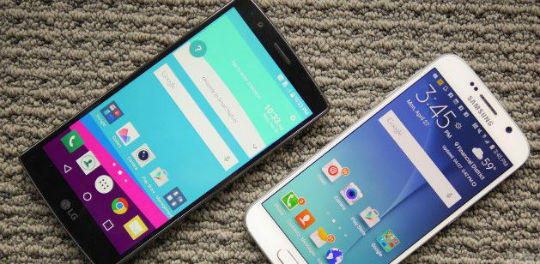 Galaxy S6 Edge vs G4