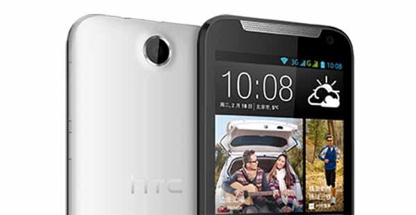 HTC Desire detalle