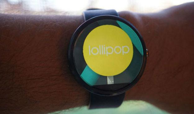 Android Wea Lollipop 5.1.1