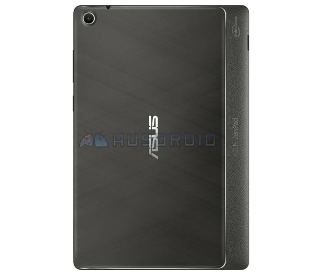 ASUS ZenPad 8 cubierta posterior filtración