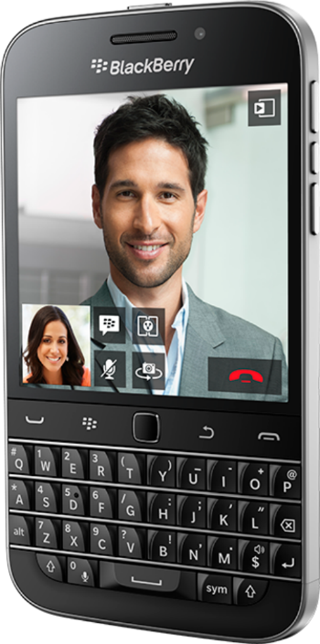 BlackBerry Classic con pantalla Touch HD y teclado QWERTY