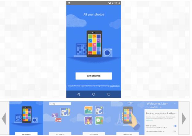 Google app Fotos