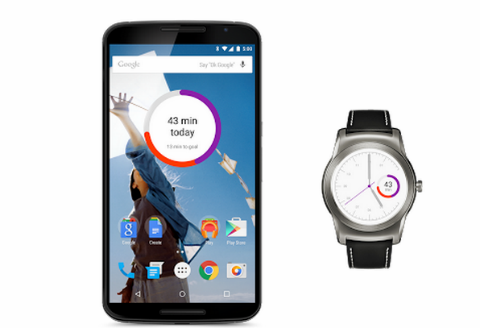 Google Fit  enlace-con-android-wear