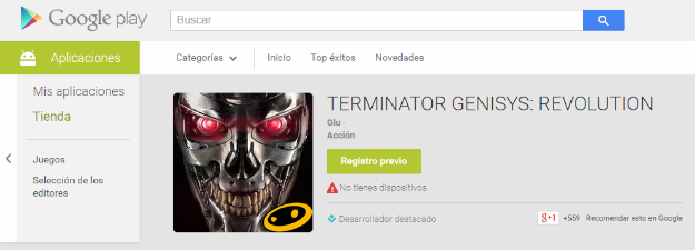 Google Play pre-registro previo a lanzamiento de apps