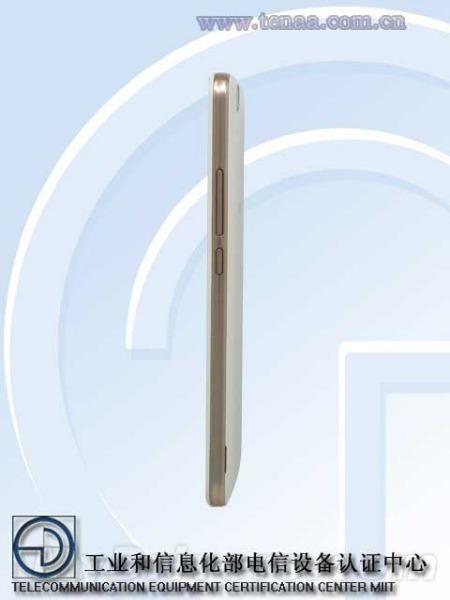 Huawei Honor TENAA lateral derecho
