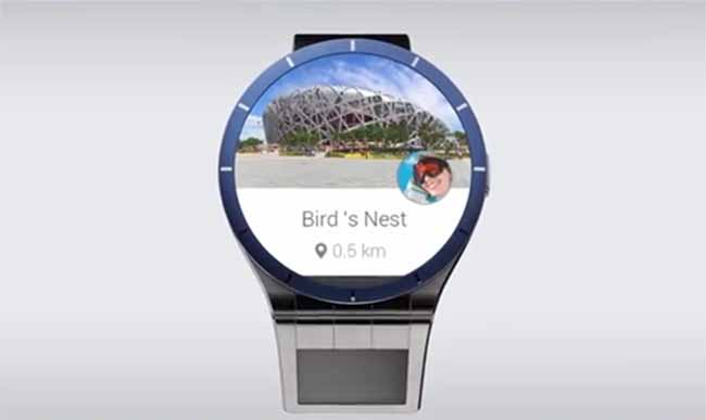 Lenovo Smartwatch con Magic View