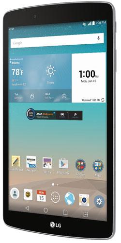 LG G Pad F 8.0 pantalla