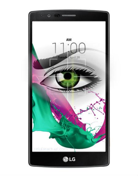 LG 5 y LG 4 Pro con escáner de iris