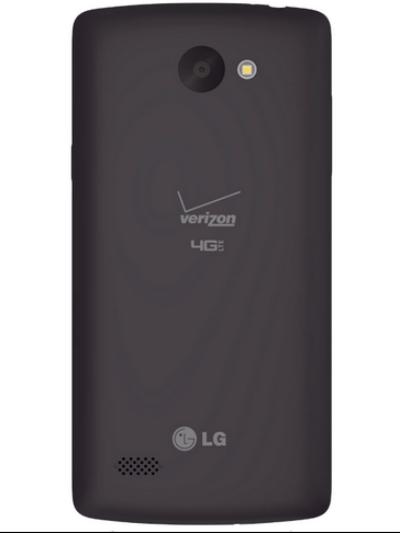 LG Lancet con Verizon vista trasera