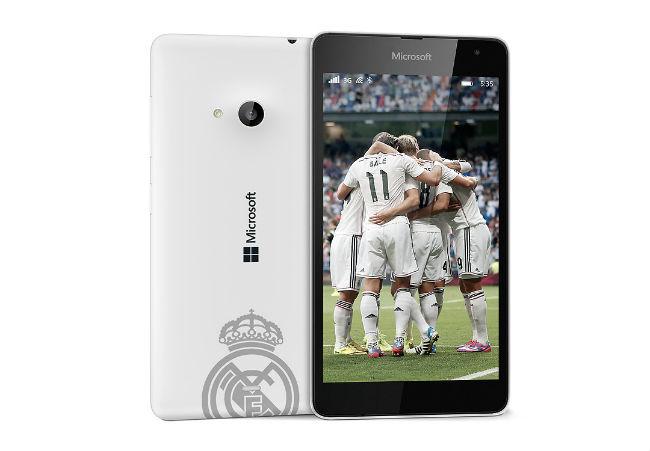 Lumia 535 edición Real Madrid