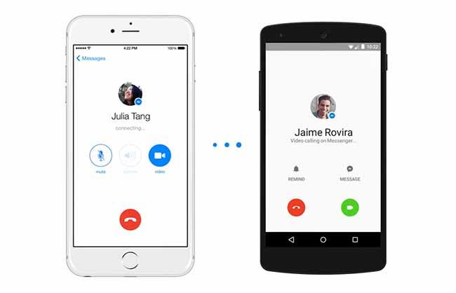 Facebook messenger y su Videollamada aterriza en casi todo el mundo