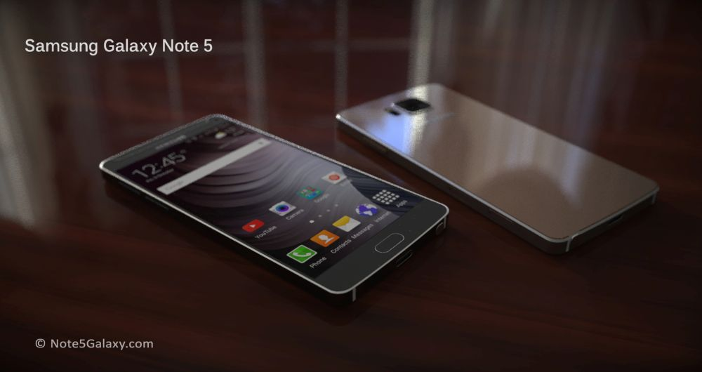 Samsung Galaxy Note 5 no oficial