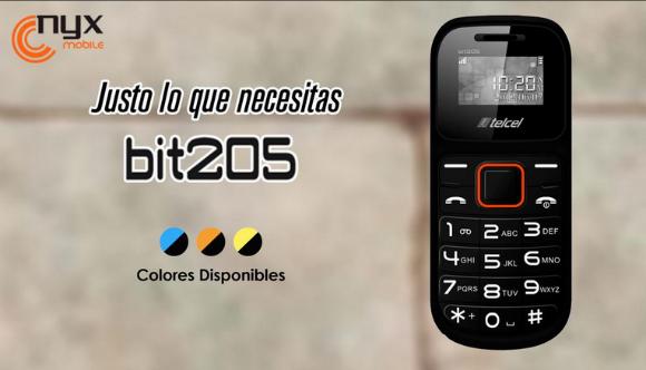 Nyx Mobile Bit 205 colores