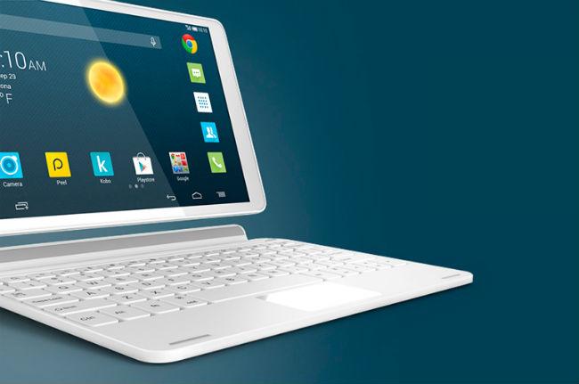 One Touch Pop 10 con teclado